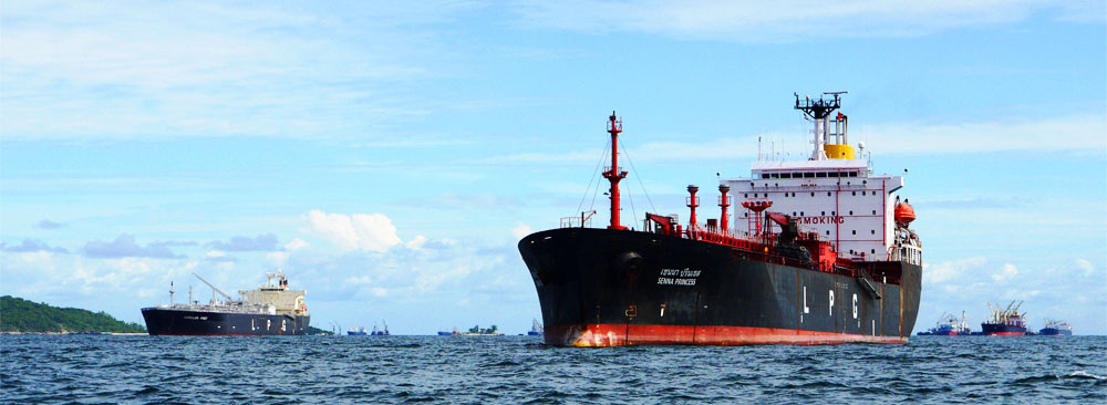 Tanker ship Siam Gas